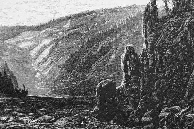 Anton Waldhauser – Svatojánské proudy (xylografie)